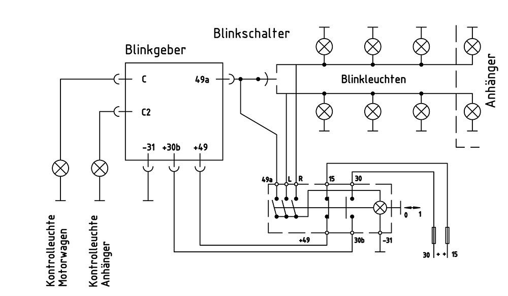 6 pin flasher relay wiring diagram - Google Search | Automobile ...