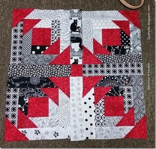 Pineapple Blossom idea | Nähen | Pinterest | Log cabins, Patchwork ... : pineapple block quilt pattern - Adamdwight.com