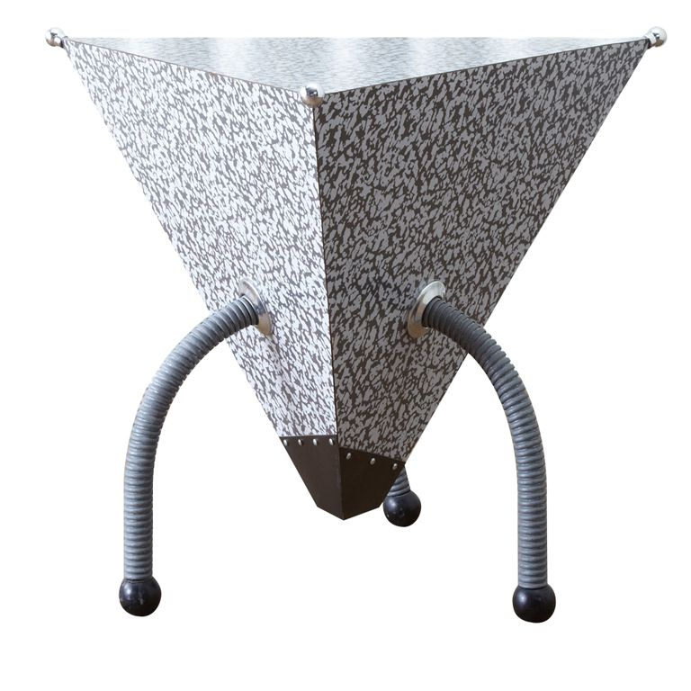 Post Modern Coffee Tables: Triangular Coffee Table By Peter Shire For The Memphis