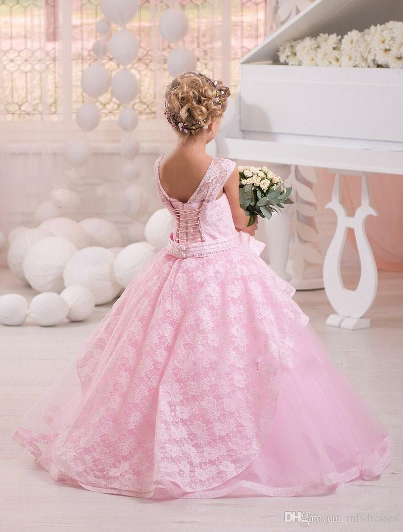 Cheap 2017 Hot Yellow Pink Scoop Ball Gown Puffy Princess Dress ...