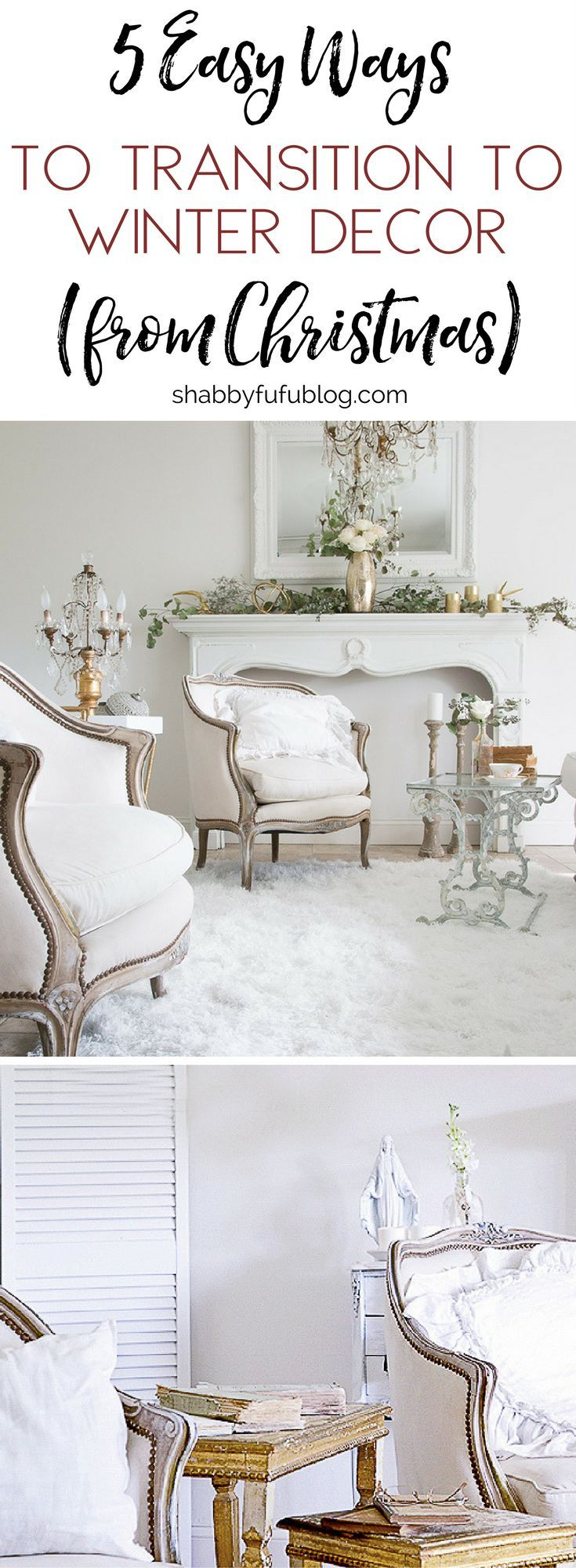 Five Easy Ways To Transition To Winter Decorating | Fresh start ...
