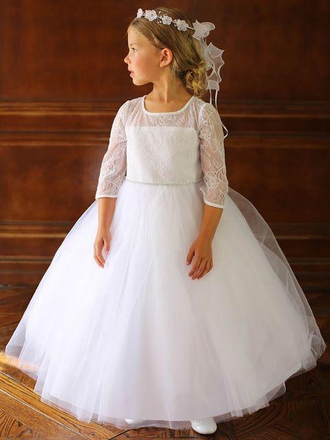 190ff39c8 vestidos de primera comunion sencillos y elegantes