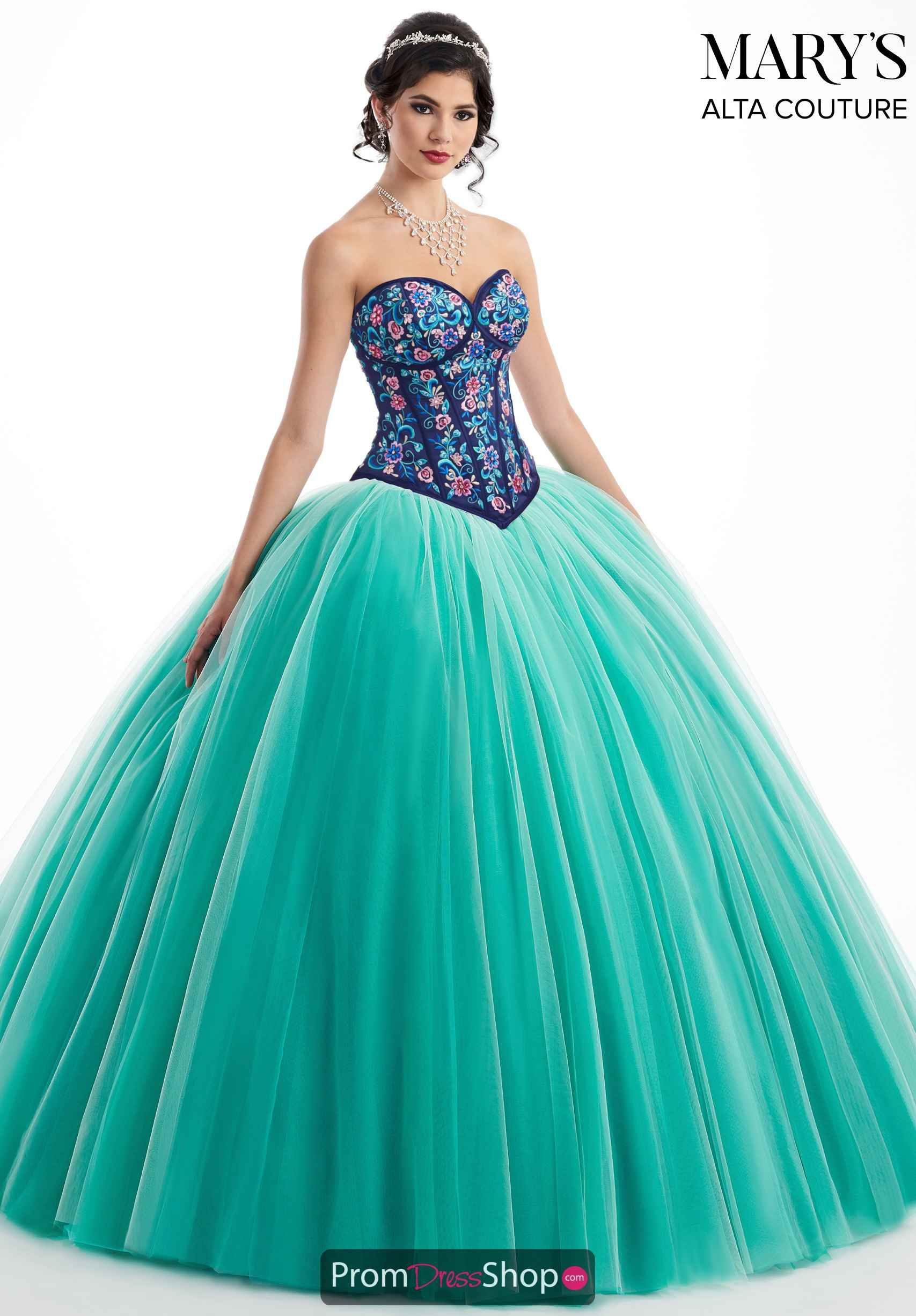 faaed0a893f Navy Multi French Mint Quinceanera Collection