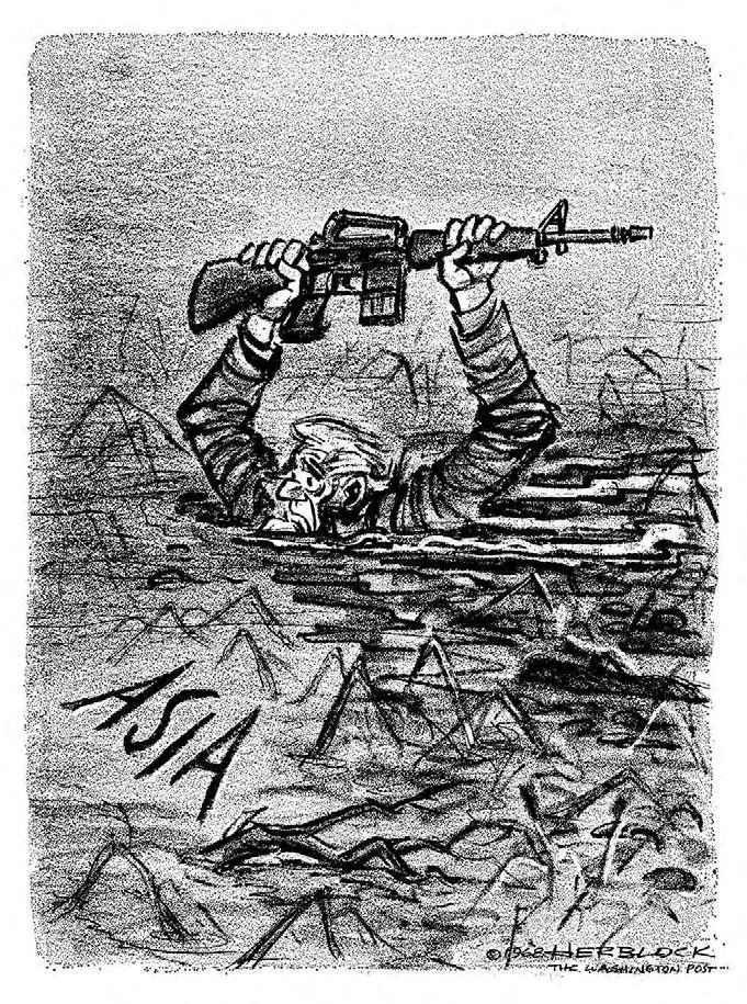 Custom Movie Masters This Herblock Cartoon Depicting The Vietnam War As A Quagmire Was Published   Days Before The Tet Offensive January Architecture Help Writing also High School Dropout Essay This Herblock Cartoon Depicting The Vietnam War As A Quagmire Was  Creative Writing Companies