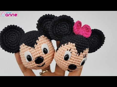 Amigurumi Miki Ve Mini Fare Yapımı Youtube Häkeln Pinterest