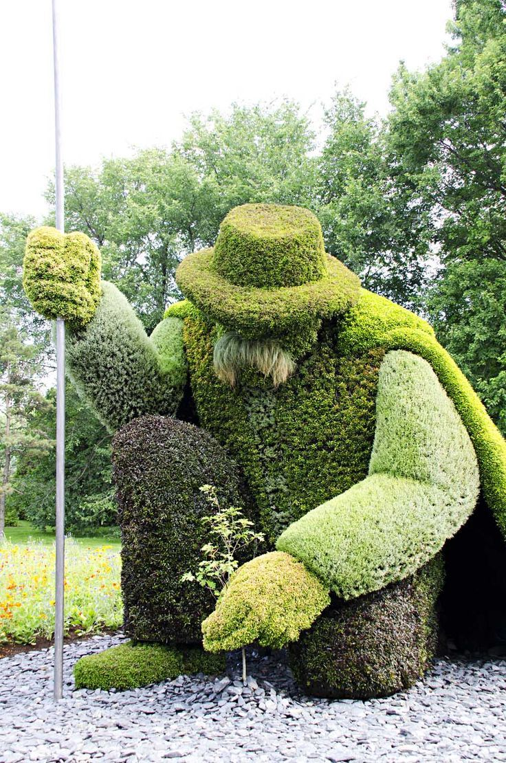 Epic Topiary Garden Art (Hedge Trimming) | Gardens and ...