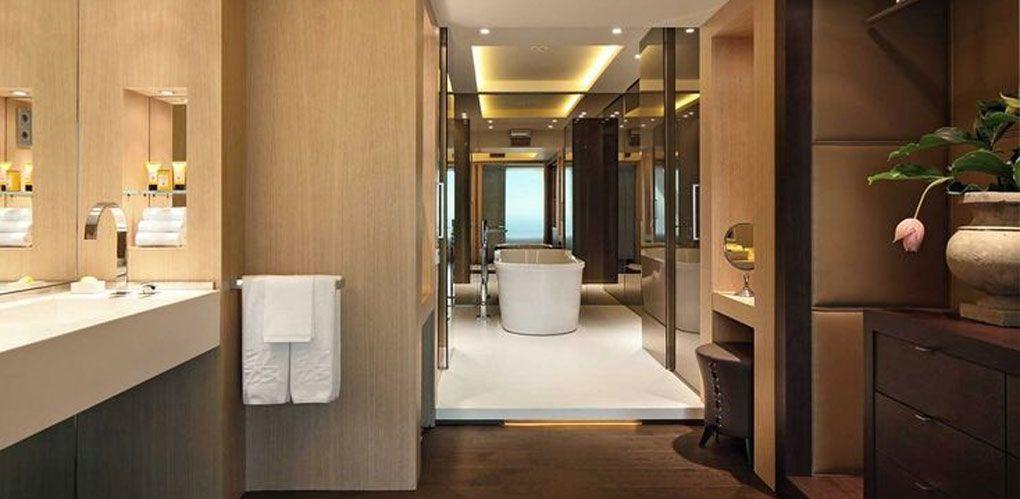 Dise o de ba os hotel arts barcelona colaboraciones y - Banos de hoteles ...