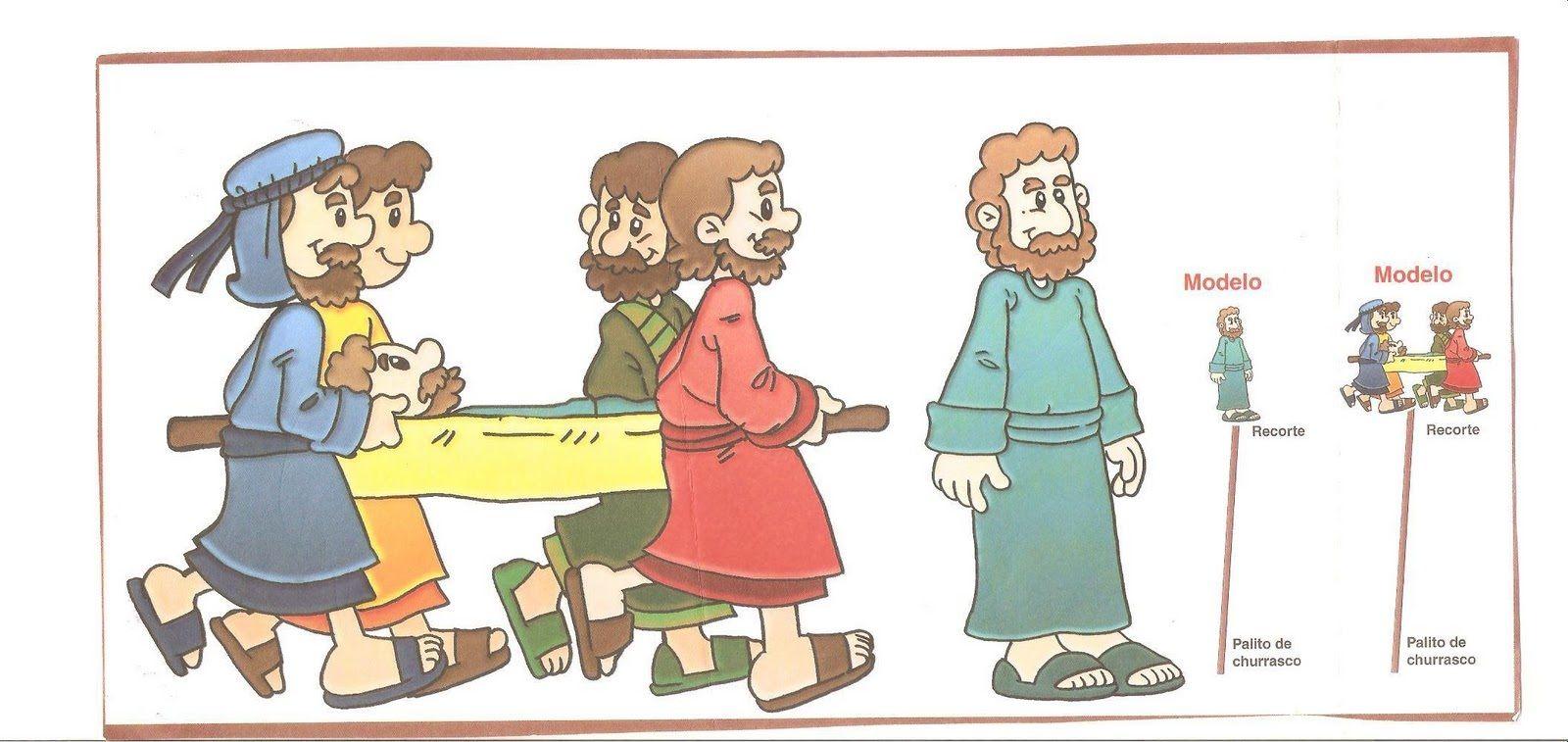 Milagros de Jesús para niños JESÚS SANA A UN PARALÍTICO Marcos 2:1 ...