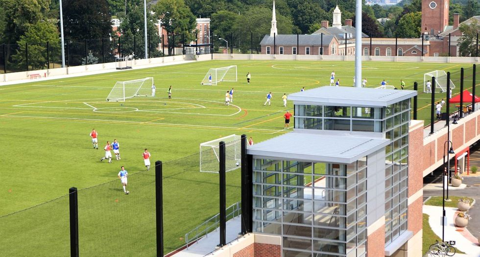 Image Result For Wpi Rooftop Field North Campus Garage Roof Falls Church