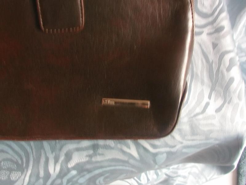 Vintage Handtasche von s.Oliver braun von MajaSt auf DaWanda.com