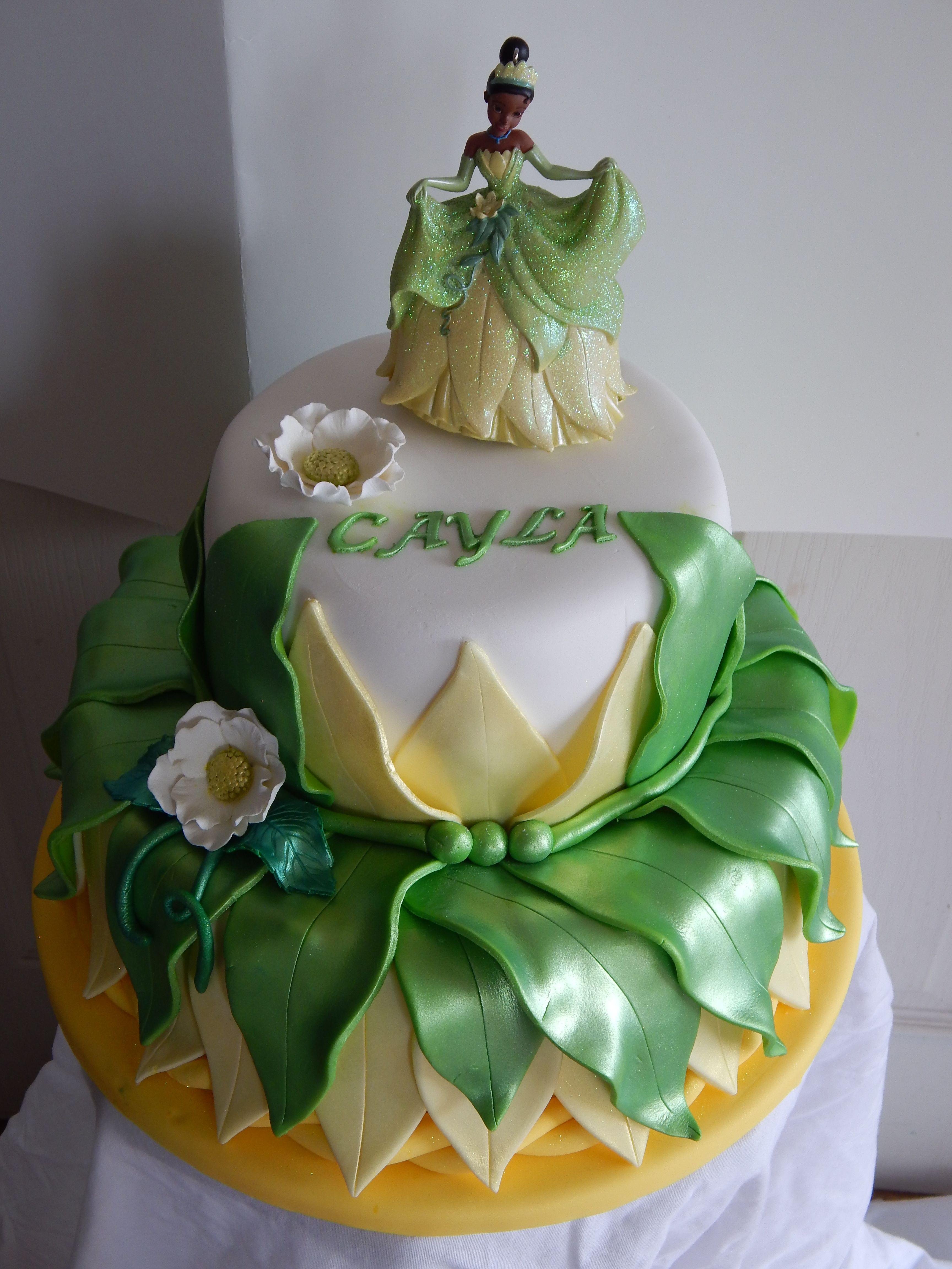 Princess Tiana Cake For Birthday Bash In Oshawa Disney Princess