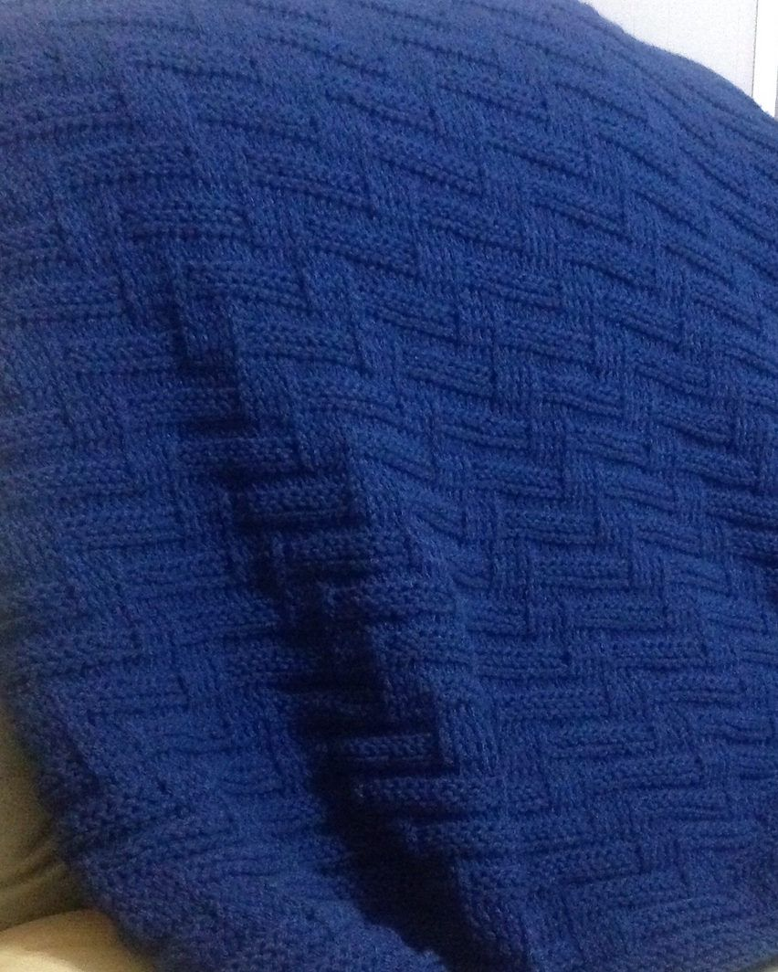 Easy Afghan Knitting Patterns | Chunky blanket, Knit patterns and ...