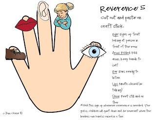Primary Reverence 5 Lds Primary Primary Lessons Lds Primary