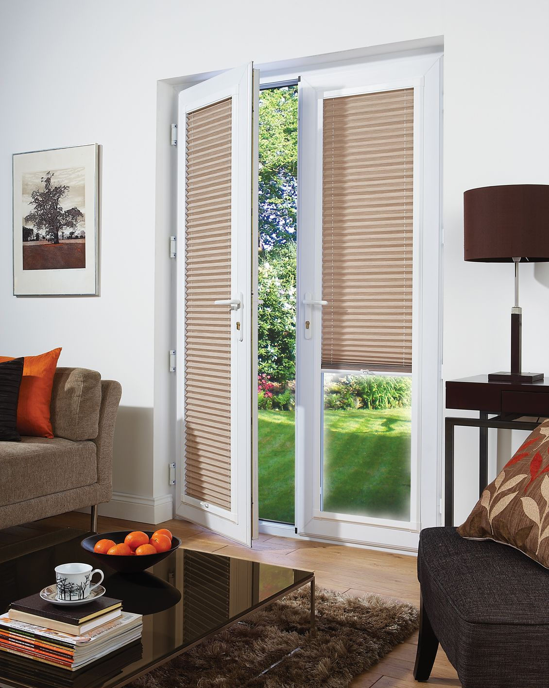 Ideas For Blinds For French Doors Part - 27: Magnetic Window Blinds As Important Elements Of Interior : Magnetic Blinds  For Doors With Windows. Magnetic Blinds For Doors With Windows.
