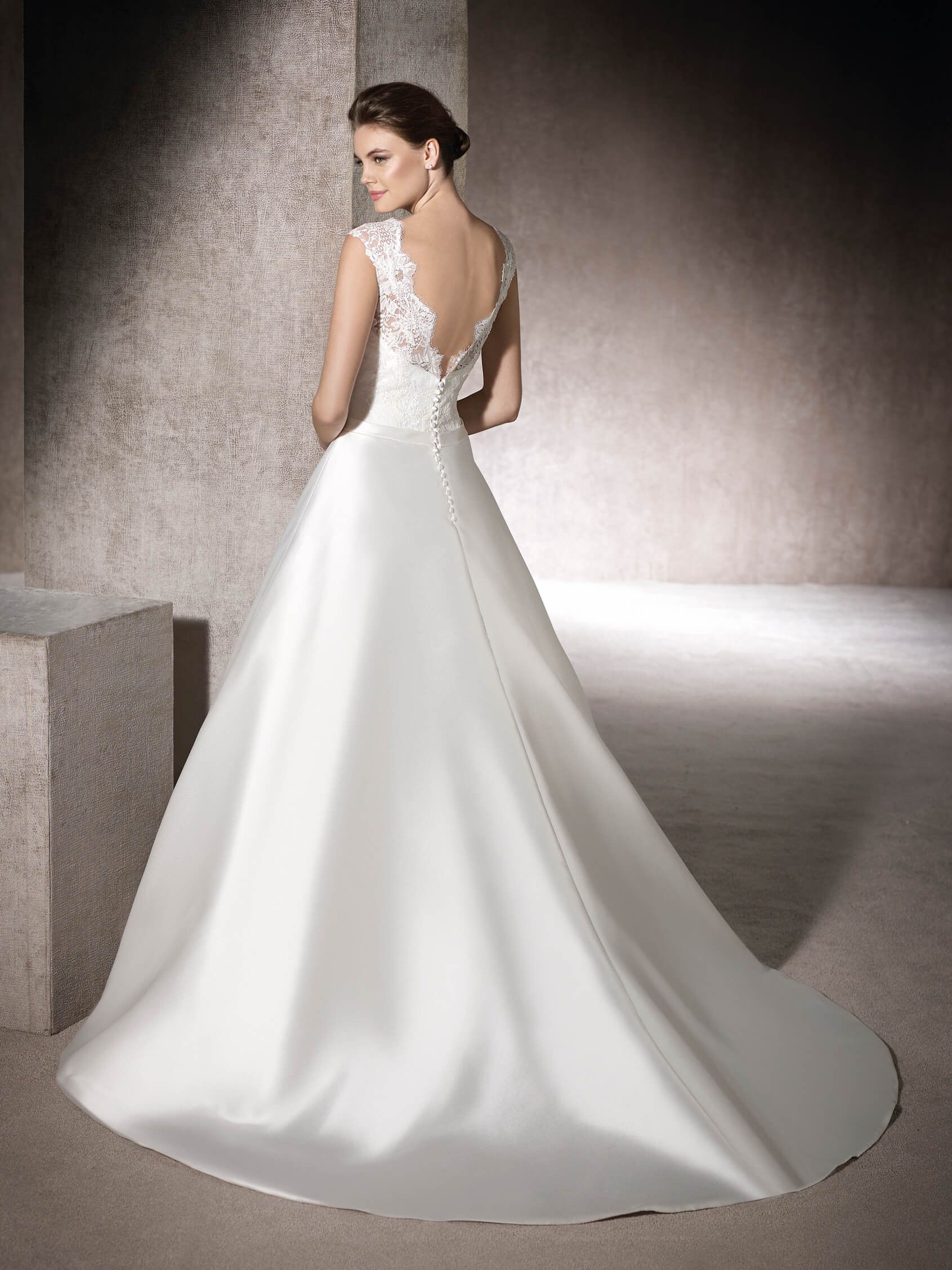 A-line wedding dress Morgan