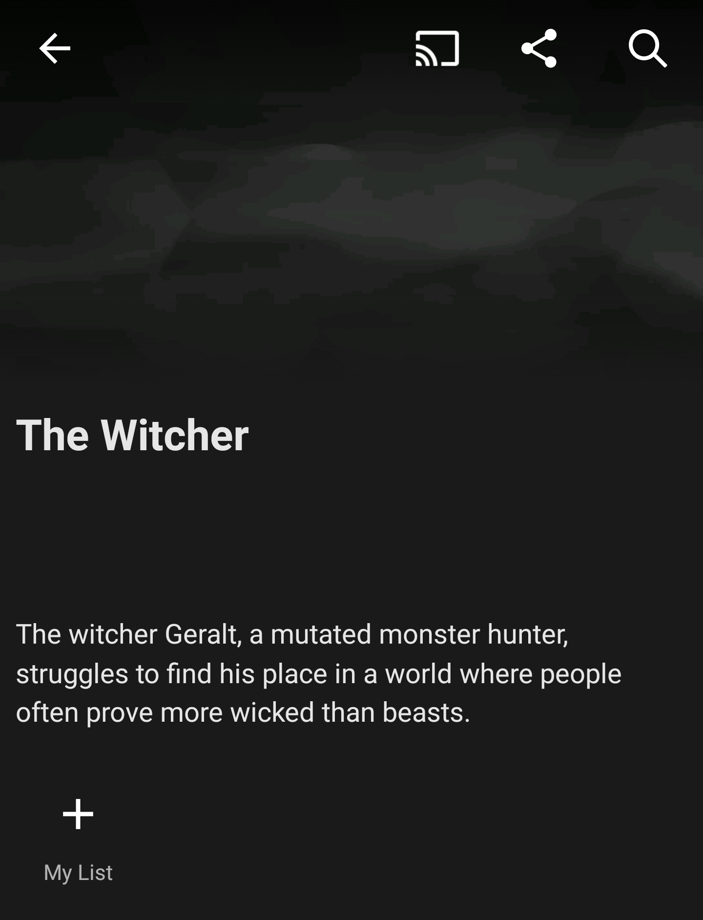 Current description for The Witcher TV series on Netflix #TheWitcher3 #PS4 #WILDHUNT #PS4share #games #gaming #TheWitcher #TheWitcher3WildHunt
