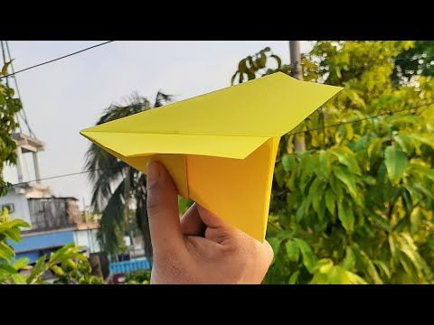 Photo of Flying Paper Plane Very Easy | Origami Airplane Making Tutorial For School Project | DIY Paper Craft