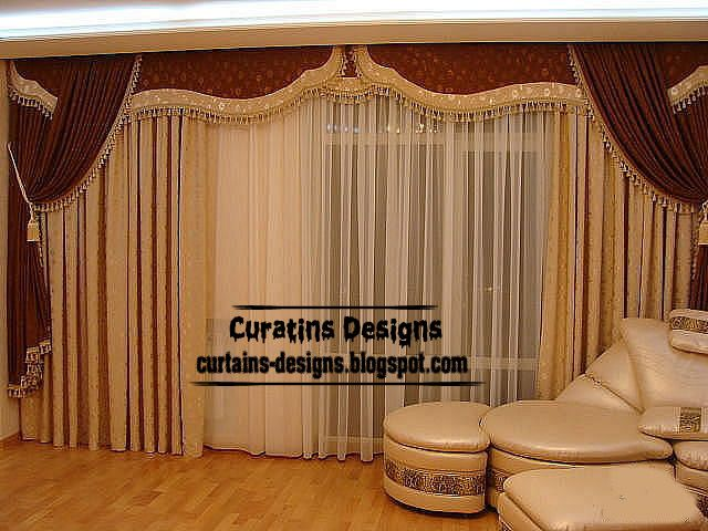 American Wide Curtain Design For Bedroom Door And Windows