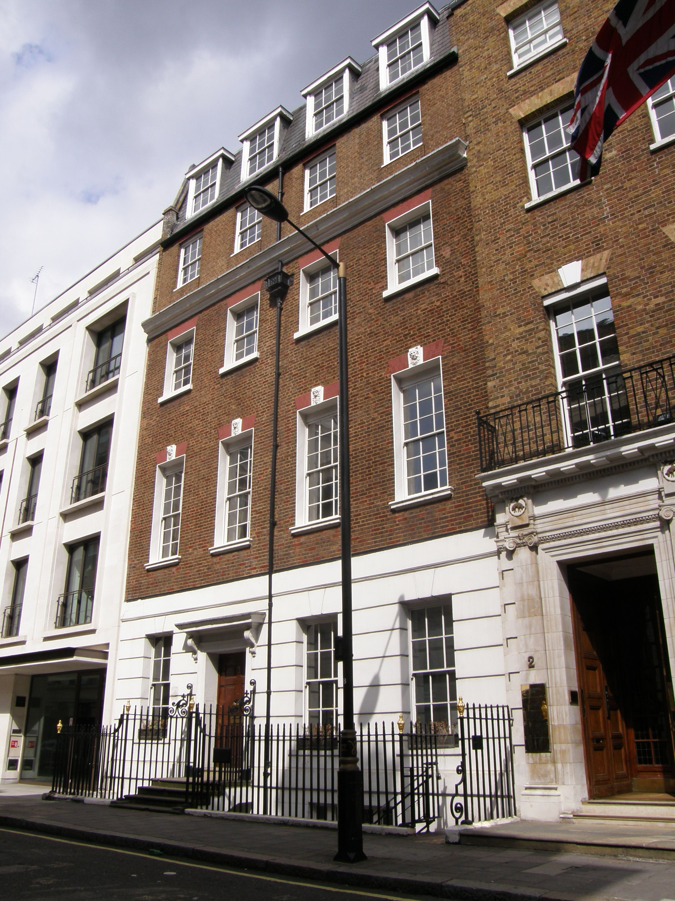 Apple Corps building at 3 Savile Row, site of the Let It Be rooftop concert  | Building, London, Apple corps