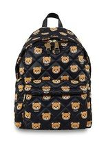 Moschino Quilted Bear Printed Backpack
