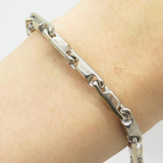 Creative Bracelet Rope Chain tu Made In Italy .925 Sterling Silver