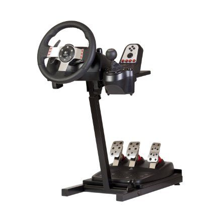 The Ultimate Steering Wheel Stand in Black - suitable for Logitech