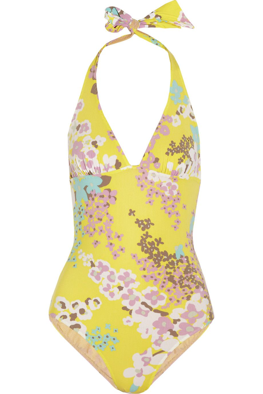 b2647a52322 Discount designer clothes for women sale. Floral-print swimsuit by M Missoni