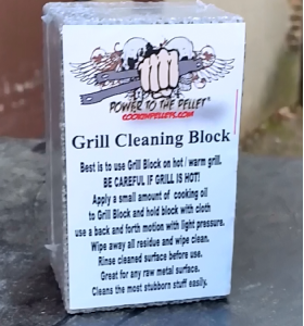 Grill Cleaning Block #texastwinkies
