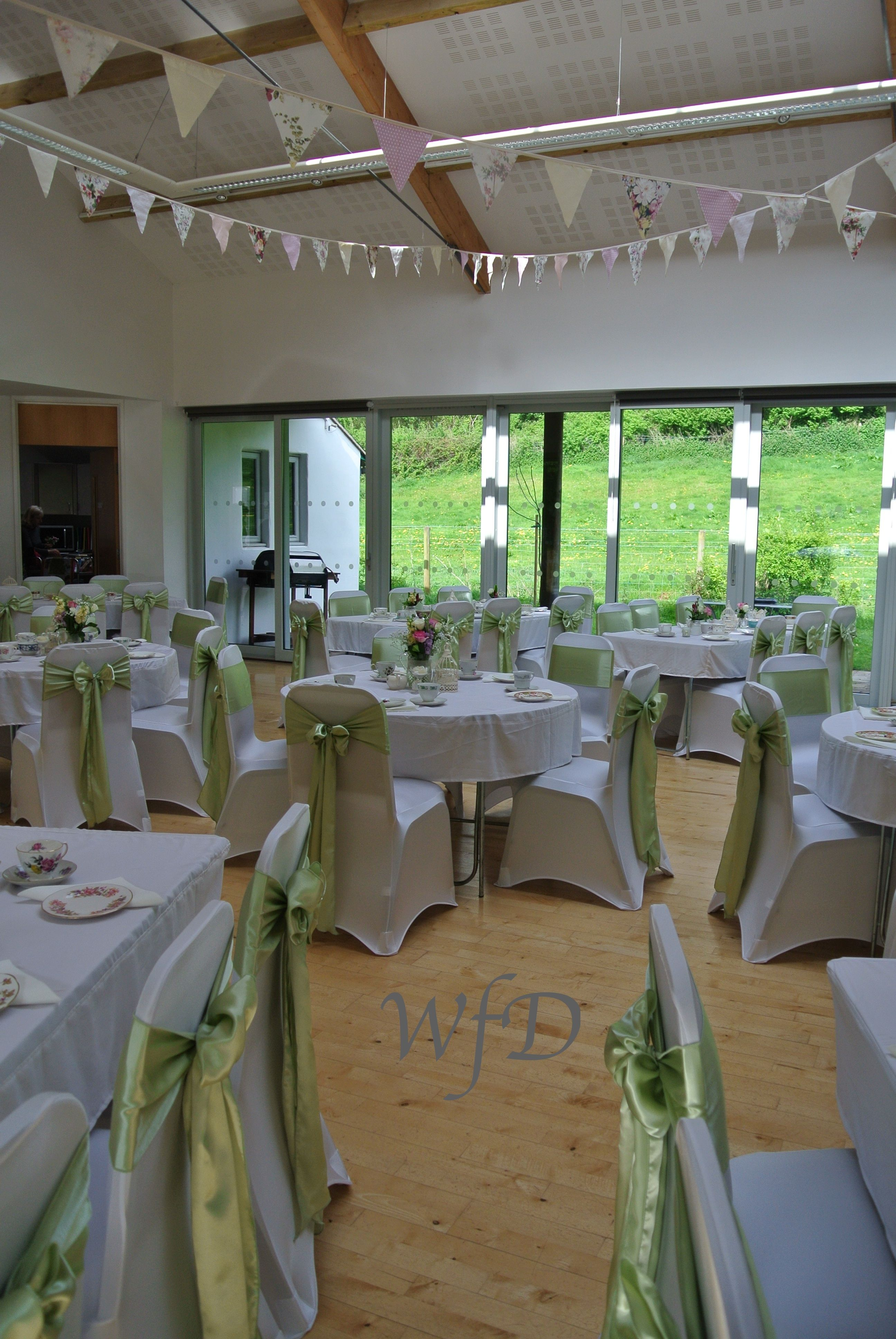 Wedding Chair Covers Devon Black Near Me Stokeinteignhead Village Hall Cover Sashes