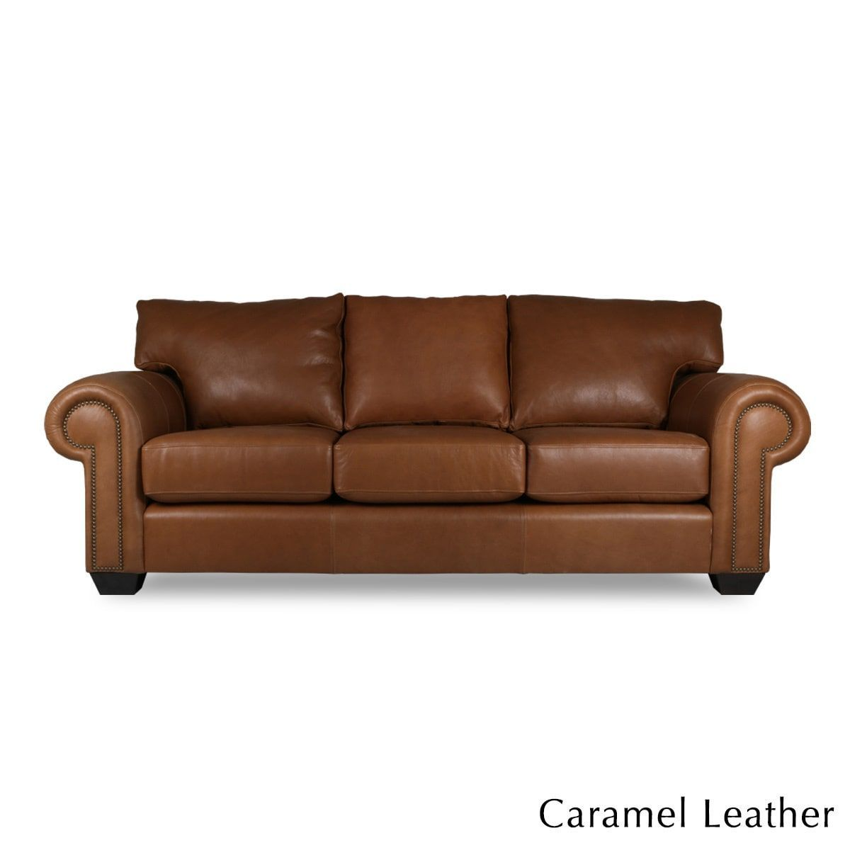 South Cone Home Made To Order Cambridge Italian Leather Sofa