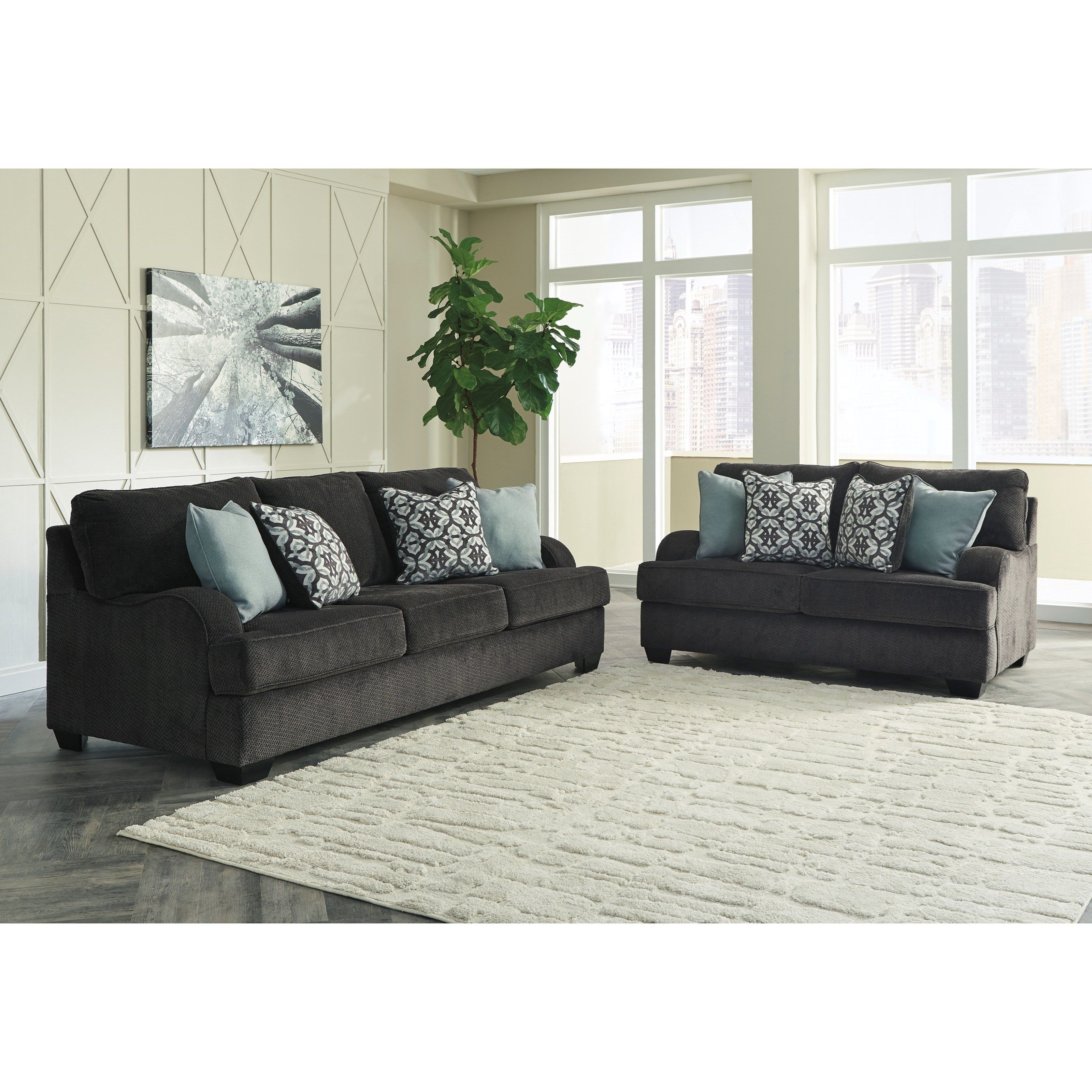 Charenton Stationary Living Room Group By Benchcraft In
