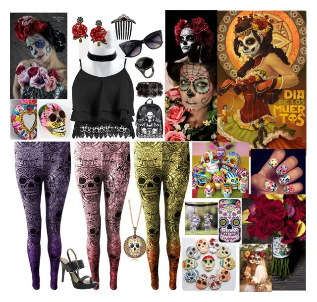 """Dia De Los Muertos"" by bee4735 on Polyvore"