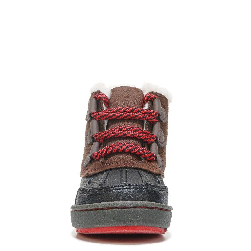 Oshkosh B'gosh Kids' Harrison Duck Boot Toddler/Preschool Shoes (Black/Brown)  - M
