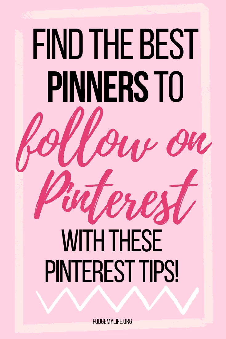 Who and What You Should Follow on Pinterest - Fudg...