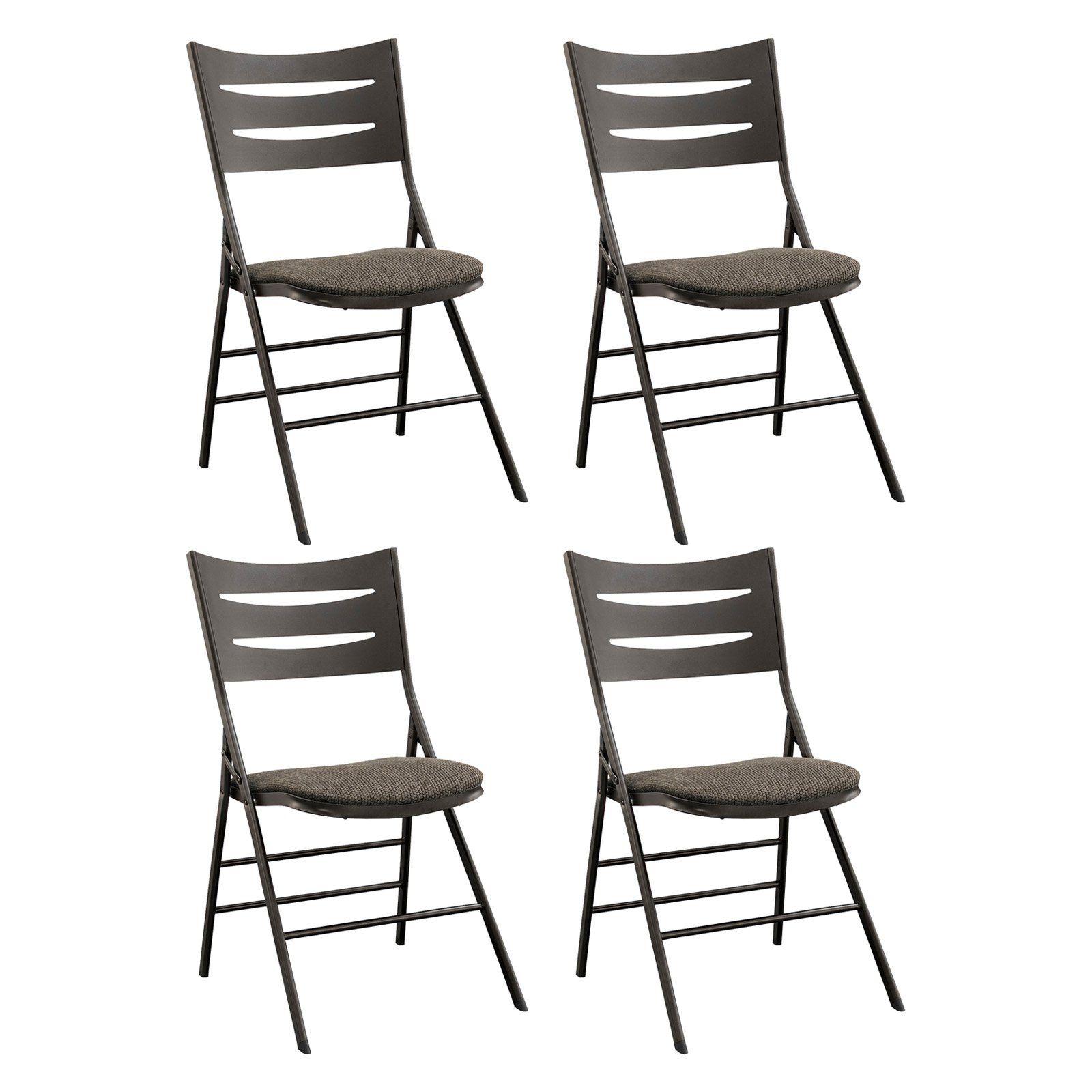 Tremendous Sudden Comfort Destiny Slat Back Folding Chair Set Of 4 Pabps2019 Chair Design Images Pabps2019Com