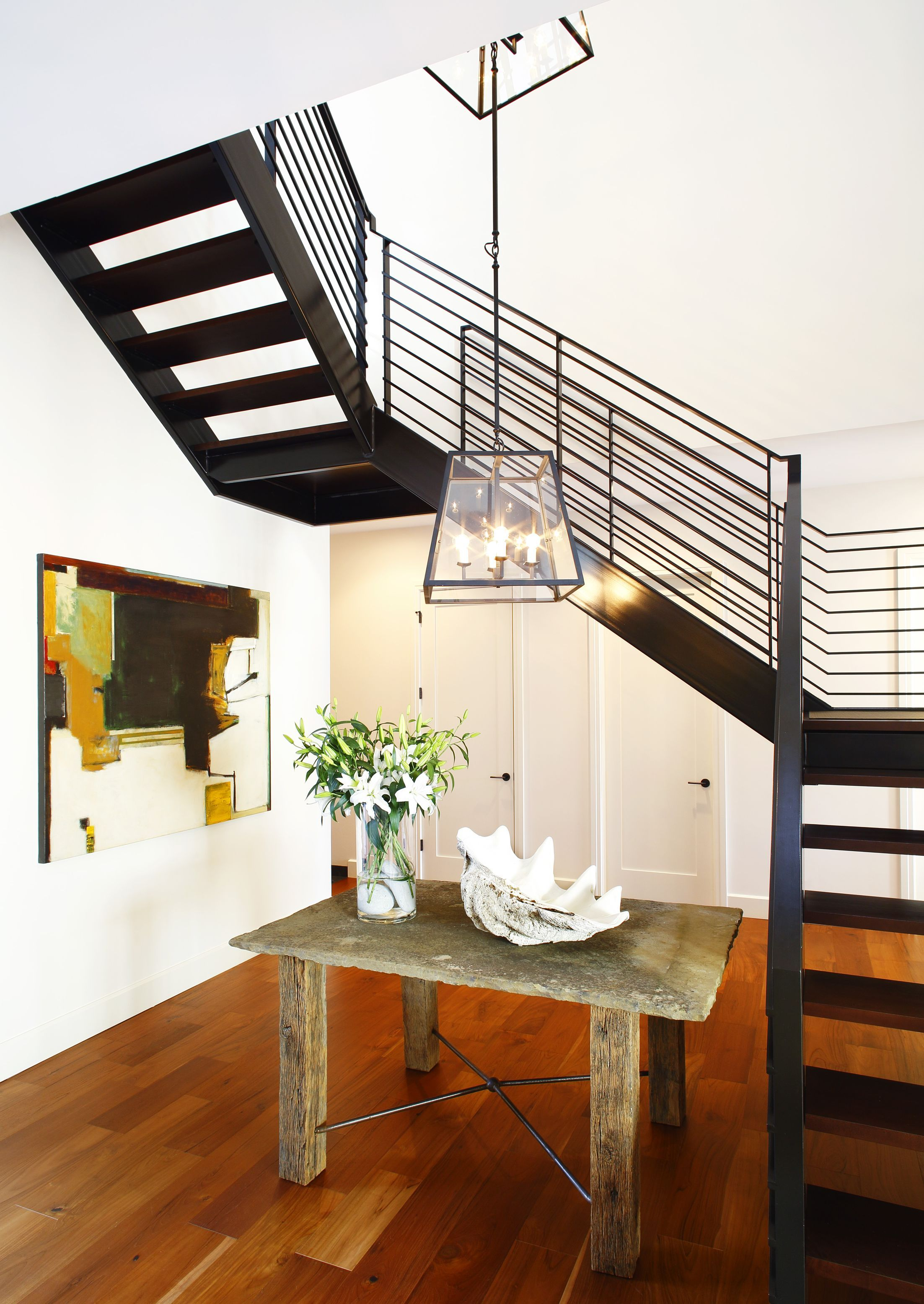 Contemporary Entryway And Hallway Design By Chancey Design