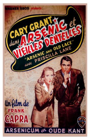 Arsenic And Old Lace Belgian Movie Poster 1944 Photo Allposters Com Movies By Genre Movie Posters Classic Movie Posters