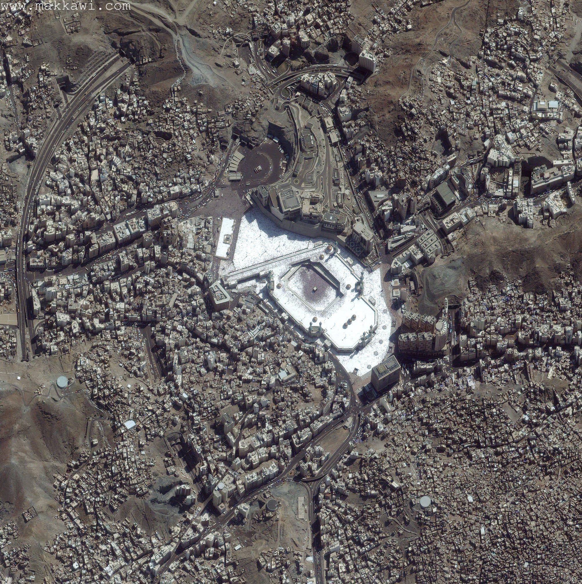 Aerial View Of Mecca Mecca Wallpaper Mecca Makkah Tower