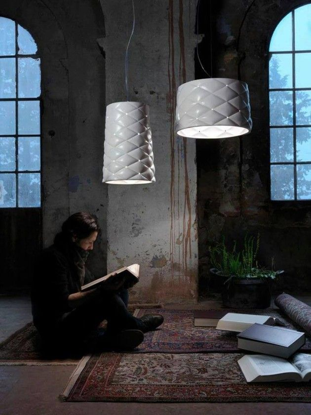 Matteo Ugolini has designed the Memory suspension lamp made from