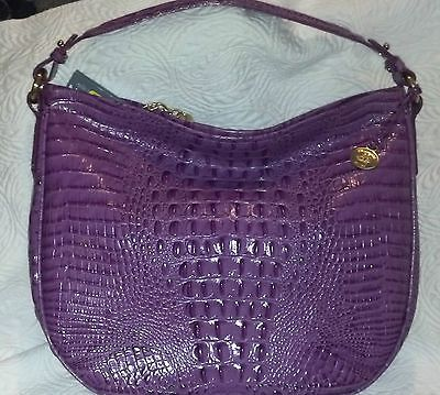NEW Brahmin Kathleen Orchid Hobo Handbag Purse Bag NWT  3a241fcefd76b