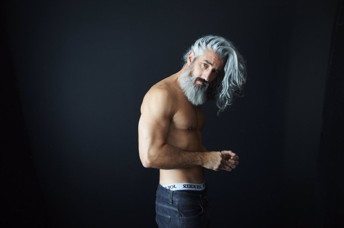 ron jack foley beards in 2018 pinterest jack foley and silver man