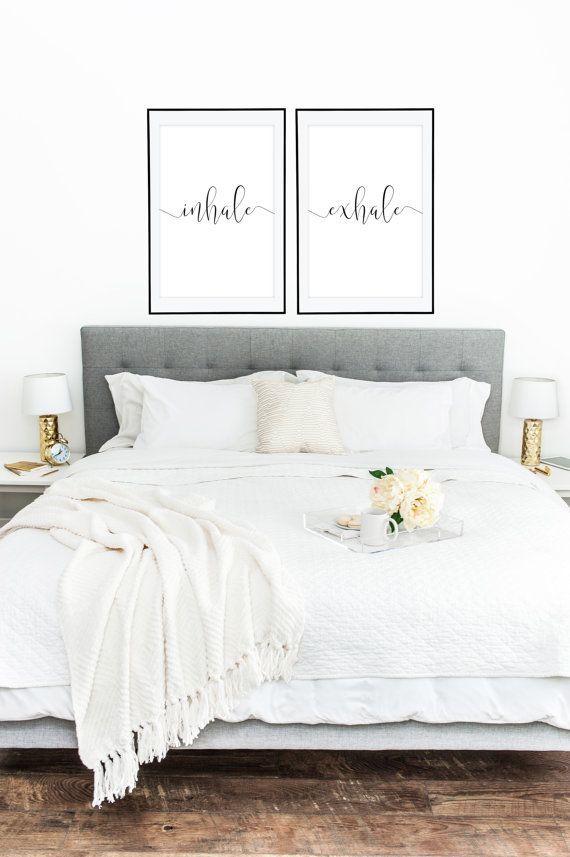 Inhale Exhale Home Decor By Dear Lily Mae You Print Printable Wall Art 2 24x36 Jpegs