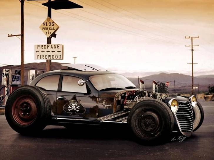 Rat Rod Pt Cruiser The Only Way I Would Have One
