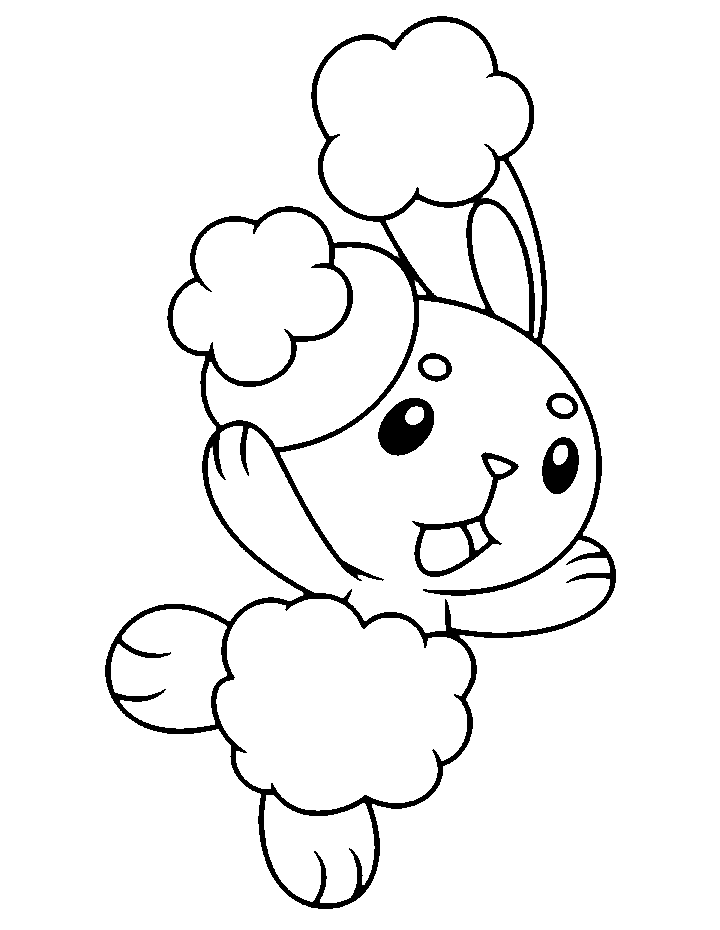 Buneary Base By Skittychu Bases On Deviantart Pokemon Coloring Pages Pokemon Coloring Moon Coloring Pages