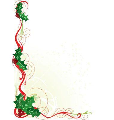 Christmas Document Borders | ... christmas frame christmas holly ...