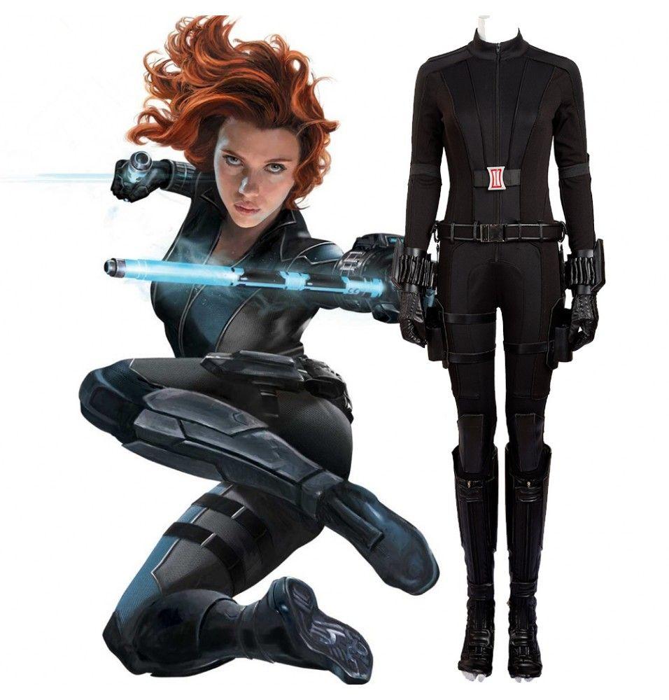 Avengers Infinity War Black Widow Costume Natasha Romanoff Cosplay Costume