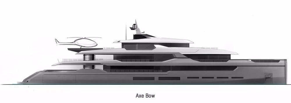 Sarp Yachts New Metre Aouda Project SuperYacht Times - Giga yacht takes luxury oil tanker sized extreme