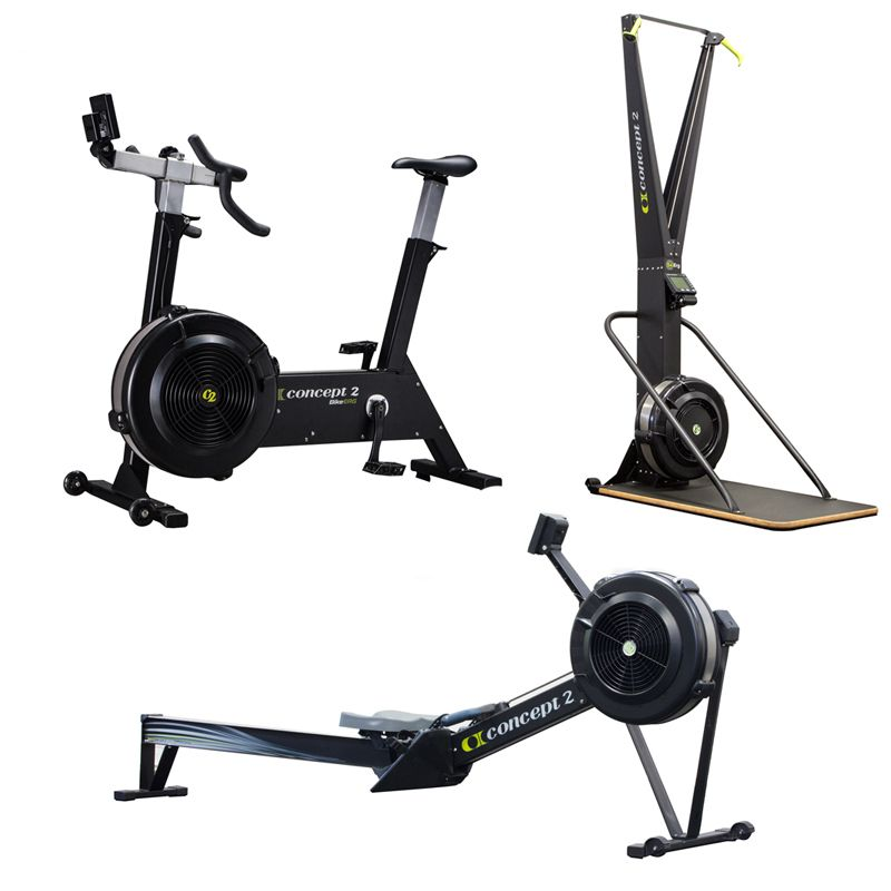 Concept 2 Complete Package At Home Gym No Equipment Workout Indoor Rowing