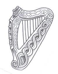 f3033ee33 Celtic Harp Tattoo | Tattoos I Love | Celtic tattoos, Irish tattoos ...