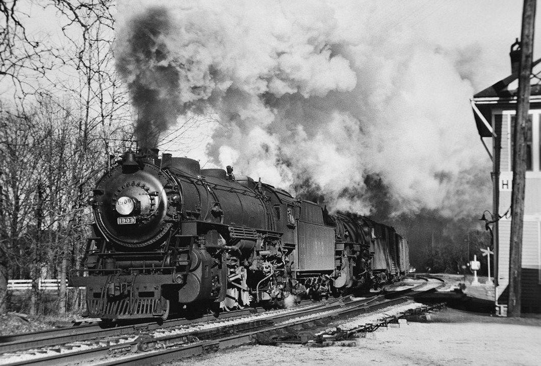 L&N RR locomotive #1909 in Anchorage, KY